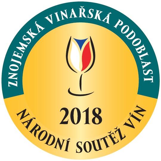 Národní soutěž vín 2018-Znojemská podoblast - NOMINACE DO SALONU VÍN