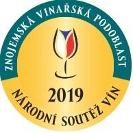 Národní soutěž vín-Znojemská podoblast 2019 - NOMINACE DO SALONU VÍN 2020