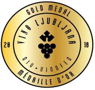 Vino Ljubljana 2018 - GOLD MEDAL