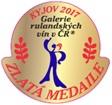 11.Galerie rulandských vín Kyjov 2017 - ZLATÁ MEDAILE