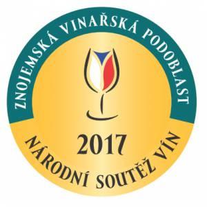 Národní soutěž vín 2017-podoblast Znojemská-ZLATÁ MEDAILE+NOMINACE DO SALONU VÍN