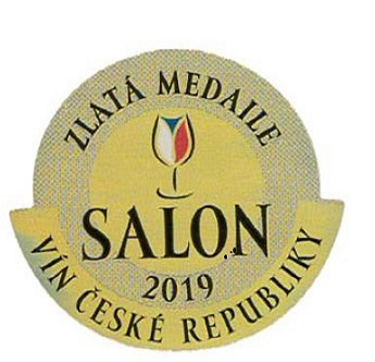 Salon vín 2019 (ev.č.63) - ZLATÁ MEDAILE