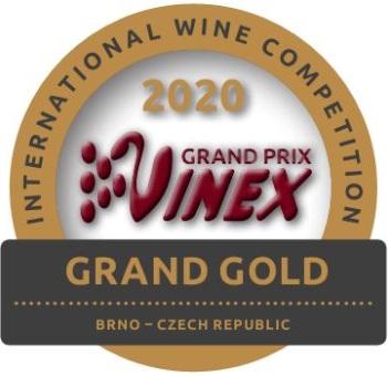 Grand Prix VINEX 2020 - Vítěz kategorie růžových vín, VELKÁ ZLATÁ MEDAILE
